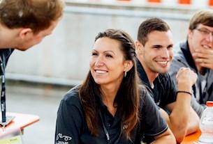 Teammitglieder der Formula Student