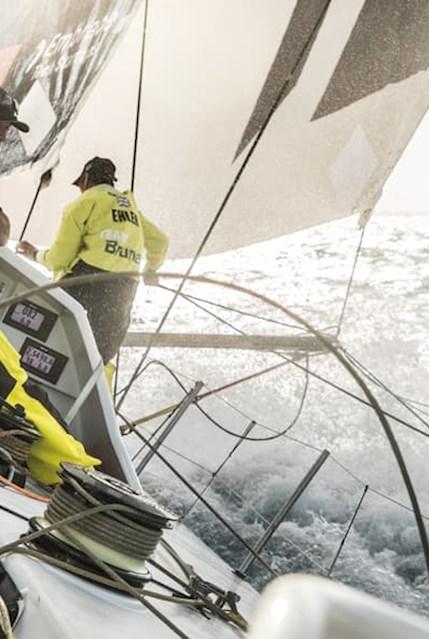 Das Team Brunel beim Volvo Ocean Race