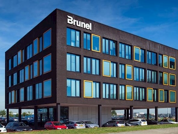 Office of Brunel in Rotterdam
