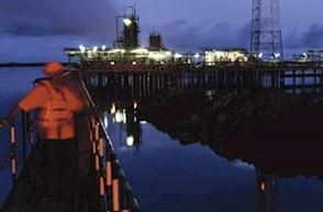 Mosaic Secundary Oil rig