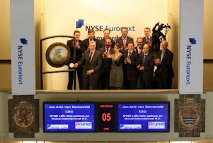 Mosaic Primary Stock Exchange Gong Ceremonie