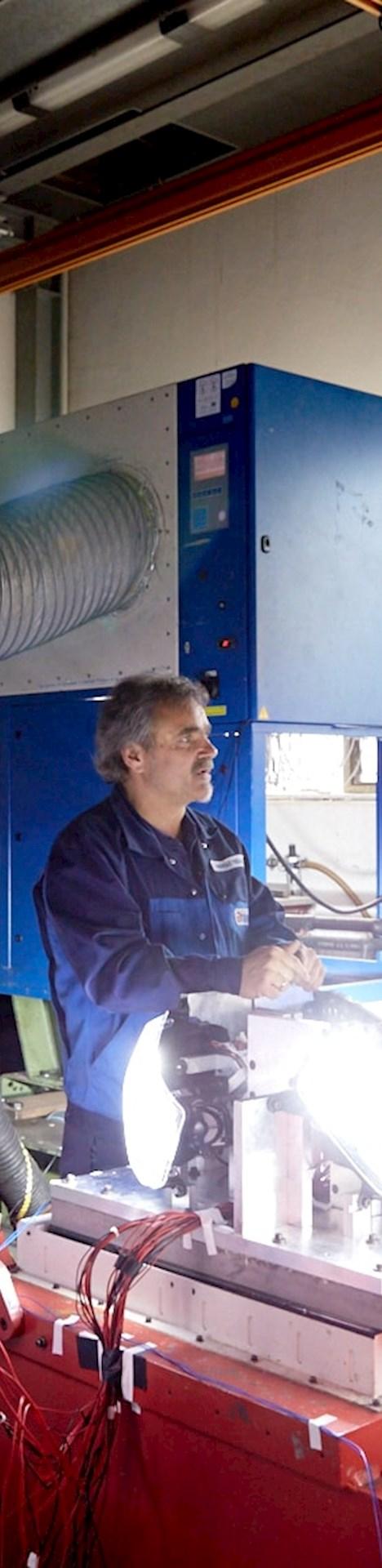 Betriebsfestigkeitsprüfung bei Brunel Car Synergies