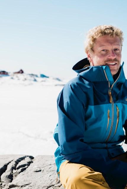 Michael Walther in Grönland