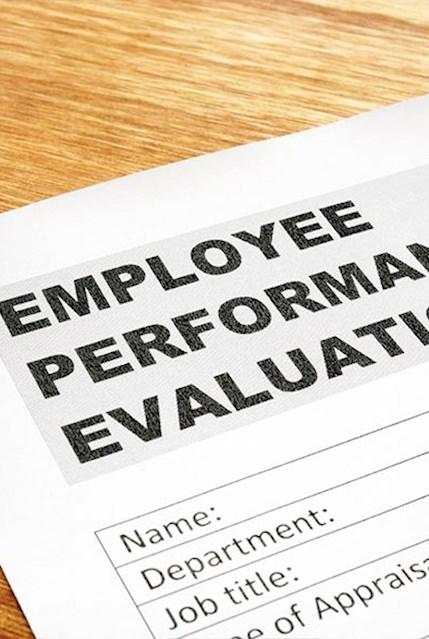 Bewertungsbogen für Mitarbeiter