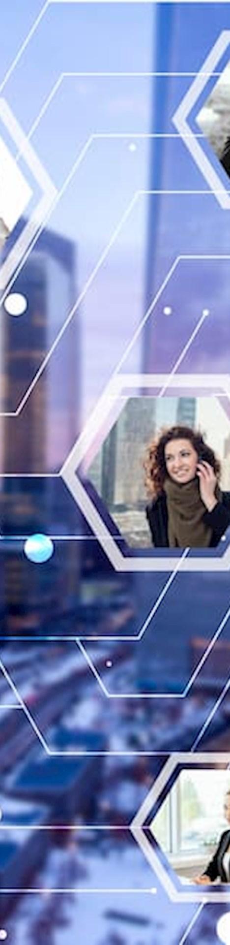 Digital vernetzte Menschen