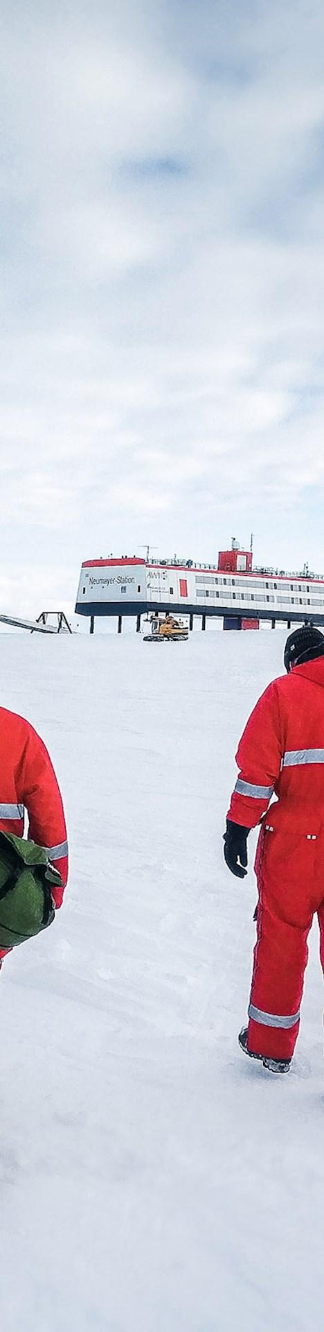 Eis Schnee Südpol Antarktis
