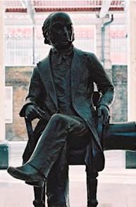 Statue von Isambard Kingdom Brunel