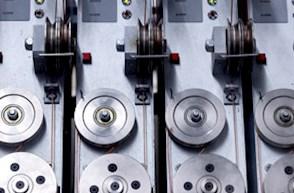 Maschine in Detailansicht