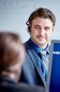Zusammenarbeit zwischen Account Managern