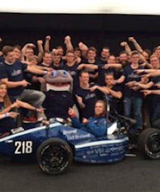 Das Formula Student Team Baltic Racing.