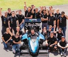 Das Formula Student Team FaSTDA.