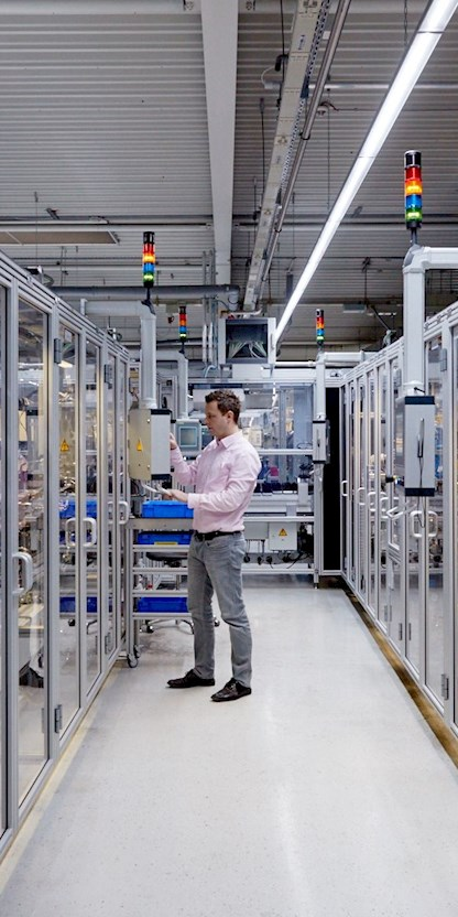 Brunel Experte bei der Anlagenbedienung im Automotive-Bereich