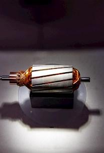 Kupferspule im Detail Qualität