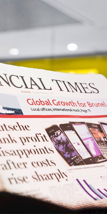 Die Brunel Newsletter informieren regelmäßig zu aktuellen Themen der Branche