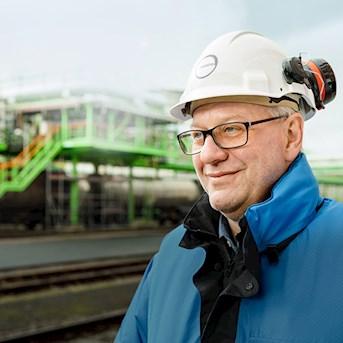 Brandschutzexperte Michael Lehmann
