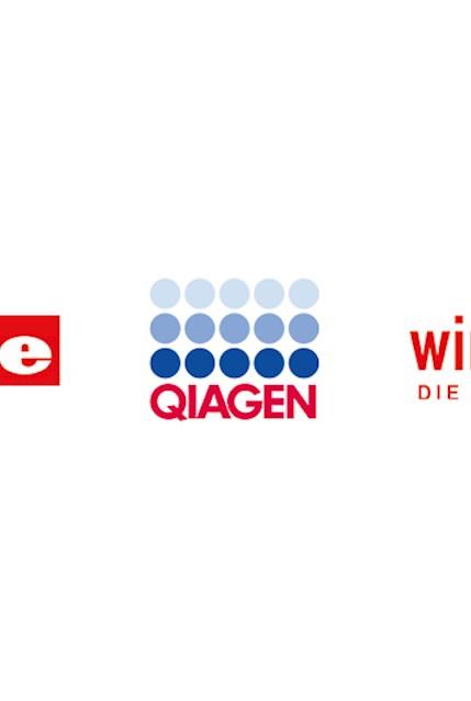 Logo Miele, Qiagen, Windhager