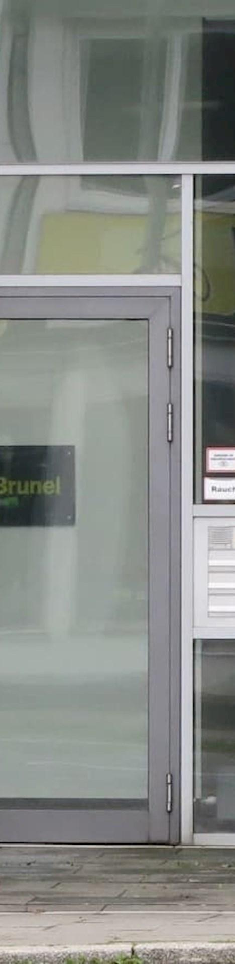 Eingang der Brunel Niederlassung Essen