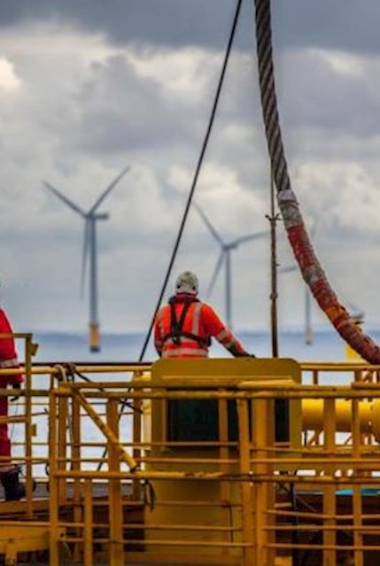 Offshore wind workers