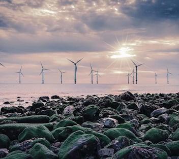 Windmills at Saint Nazaire