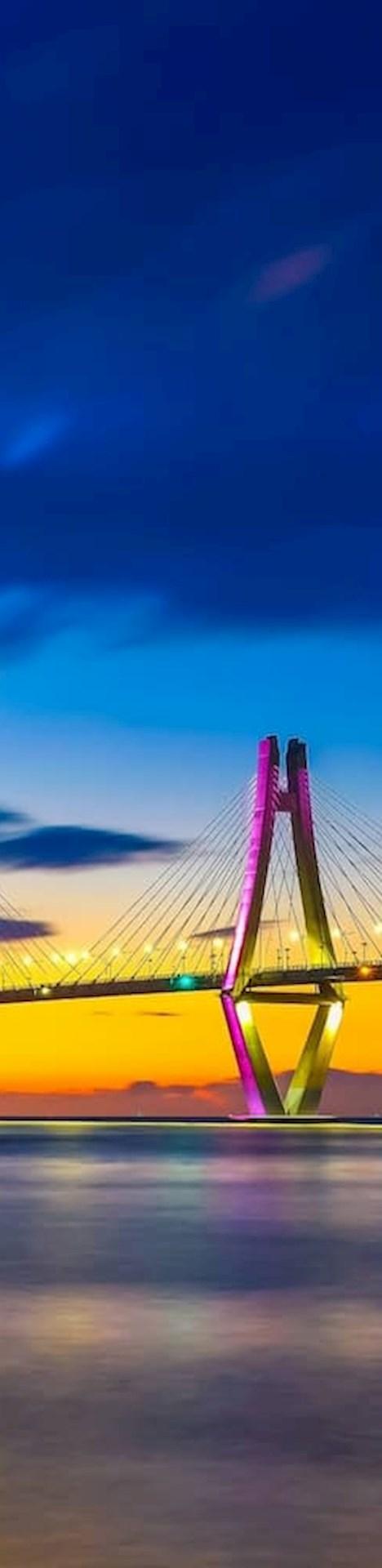 Bridge in Geoje Korea
