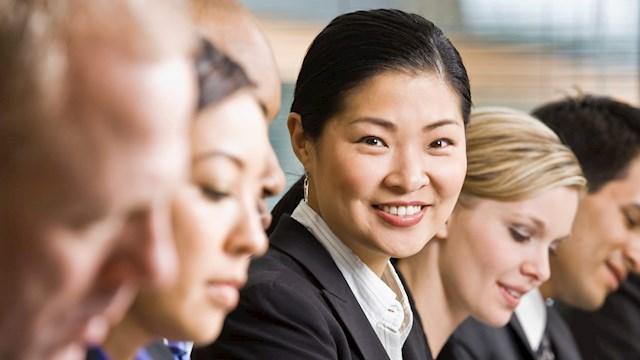 Korean businesswoman